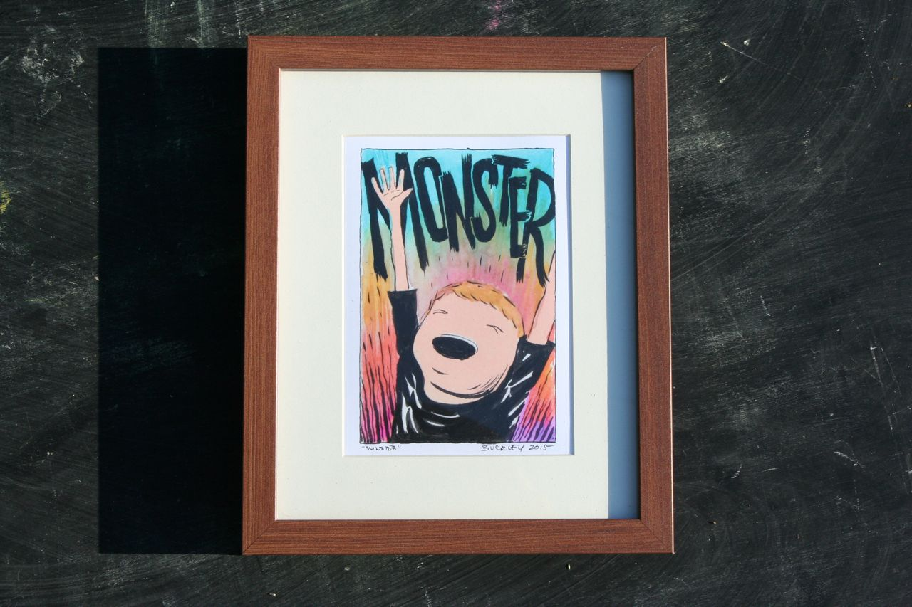 Framed color prints are $20!
