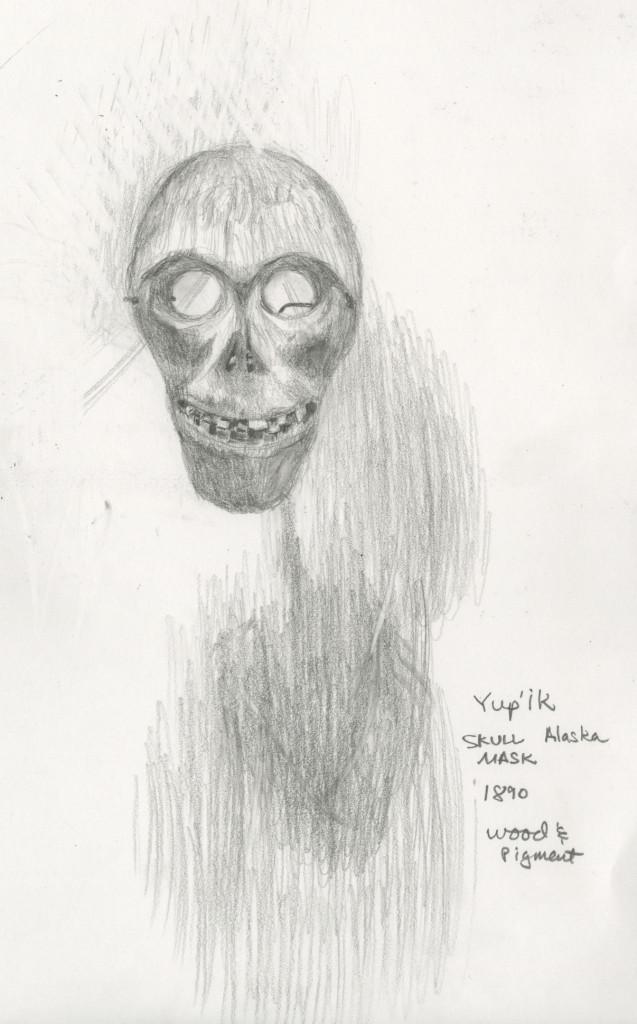 Eskimo mask.
